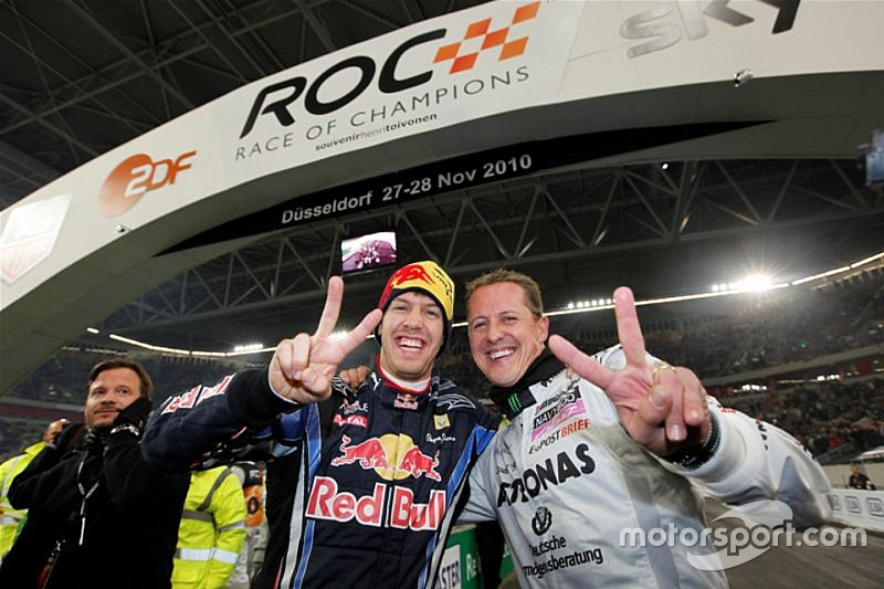 Após título da ROC, Vettel relembra Schumacher