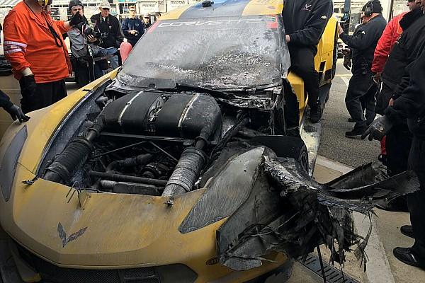 Команда Corvette Racing через пожежу виставить запасну машину