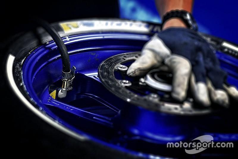 Premier test avec les nouveaux capteurs sur les pneus Michelin