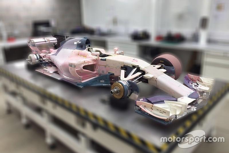 Was das Windkanalmodell von Manor über die F1-Autos 2017 verrät