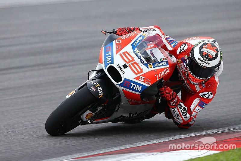 Jorge Lorenzo kiest Michele Pirro als Ducati track analyst