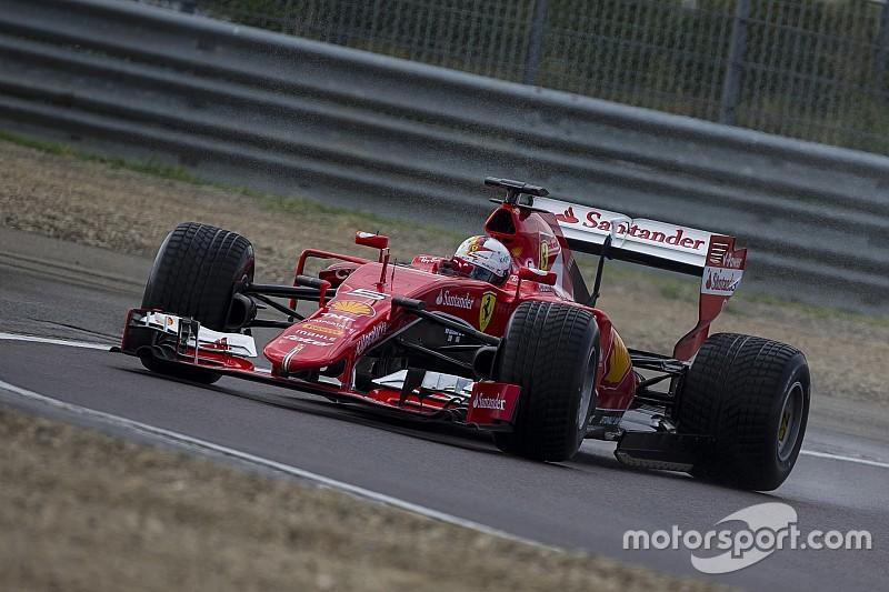 Ferrari testet neue Pirelli-Regenreifen für die Formel 1