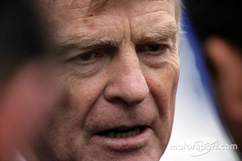 Mosley teme que novas regras não sejam boas para F1