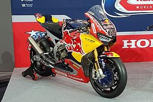 WSBK Top List Galería: La Honda CBR1000RR con los colores de Red Bull