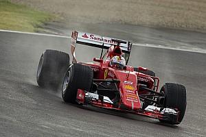Формула 1 Новость Феттель протестирует новые дождевые шины Pirelli