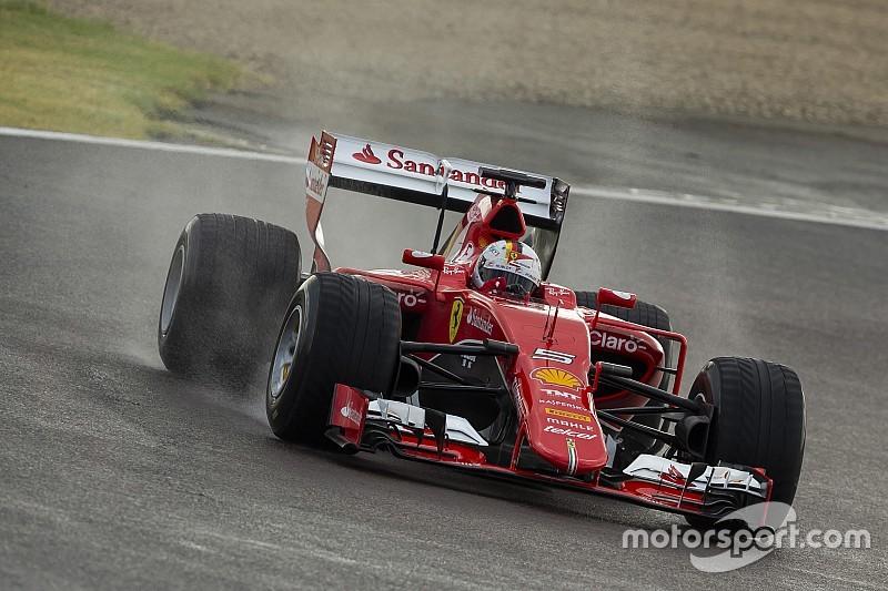 Феттель протестирует новые дождевые шины Pirelli
