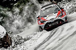 WRC Resumen de la etapa Toyota lidera la primera etapa en el Rally de Suecia