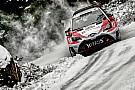 Toyota lidera la primera etapa en el Rally de Suecia