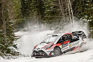 WRC 速報ニュース 【WRC】トヨタのラトバラ、第2戦スウェーデンを首位発進