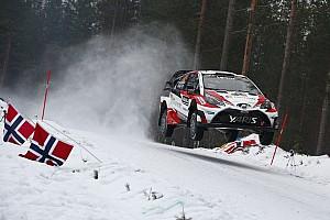 WRC Dagverslag WRC Zweden: Neuville verliest wiel, Latvala neemt leiding in klassement over