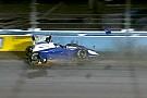 IndyCar Hunter-Reay lidera accidentada práctica en Phoenix
