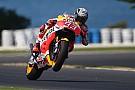 Marquez voor Rossi op eerste dag MotoGP-test Phillip Island