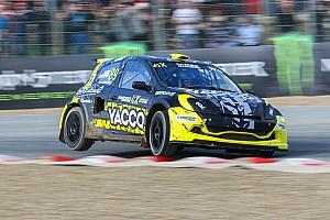 World Rallycross Actualités Une Clio et six manches mondiales pour Chicherit cette année