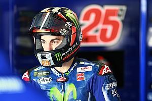 """MotoGP Noticias de última hora Viñales: """"No estoy muy lejos, pero aún no estoy contento"""""""