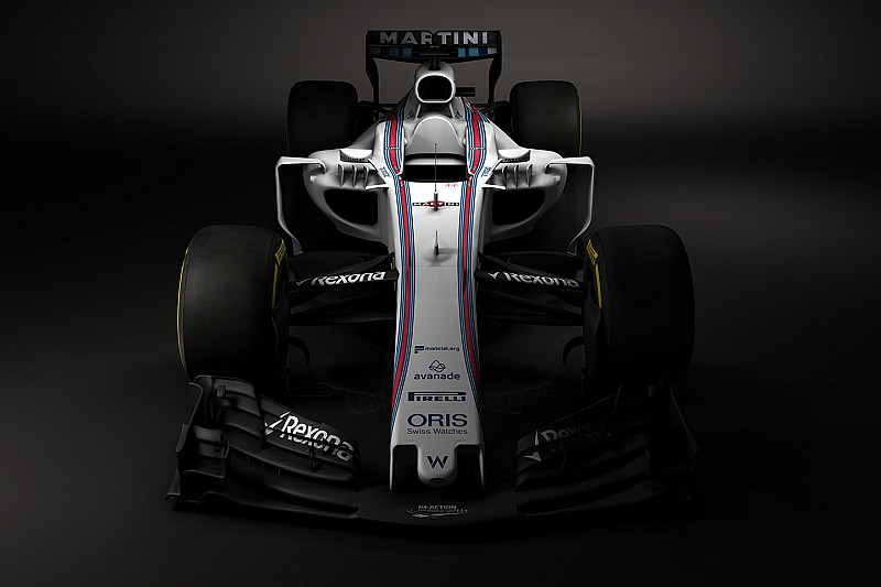 Fotogallery: la Williams FW40 di Massa e Stroll