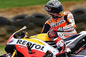 MotoGP Breaking news Marquez yakin Honda telah membuat terobosan mesin