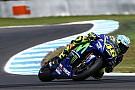 Rossi: teste em Phillip Island