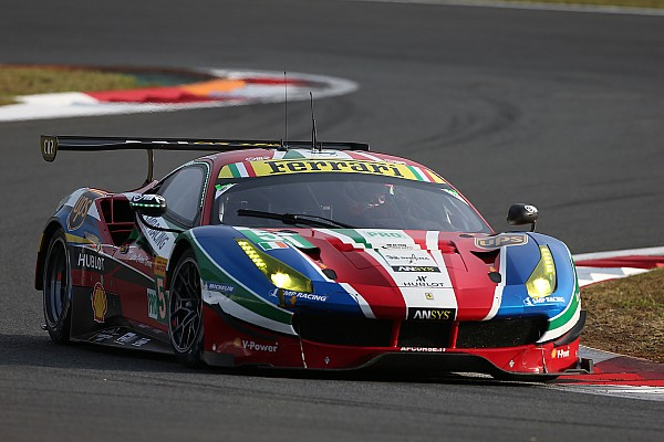 Ni Riberas, ni Molina, ni de Vries: Ferrari elige a Pier Guidi para el WEC