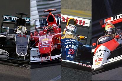 Galería: los coches con más victorias en la Fórmula 1