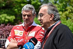 Marchionne: Ferrari'nin