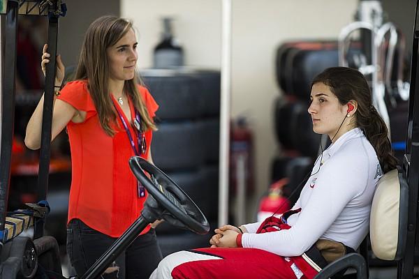 """F1 Entrevista Tatiana Calderón: """"Es un pasito más cerca del sueño que tengo"""