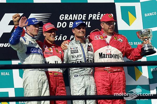 Forma-1 Ezen a napon: Schumacher harcol Schumacherrel az első helyért