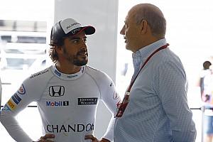 Formel 1 News Fernando Alonso: Indy-500-Deal wäre unter Ron Dennis unmöglich gewesen