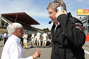 Fórmula 1 Últimas notícias Brawn: Eu não poderia trabalhar com Ecclestone