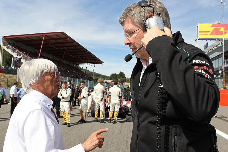 Brawn: Eu não poderia trabalhar com Ecclestone
