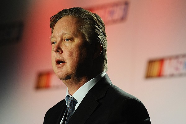 NASCAR Cup Interview Brian France says NASCAR's rising stars