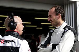 Formula E Noticias de última hora Kubica probó el Fórmula E en Donington Park