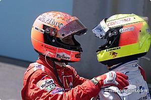 Формула 1 Ностальгія 16 років тому: перший дубль братів Шумахерів