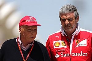 Ferrari ne veut pas d'une guerre des mots avec Mercedes