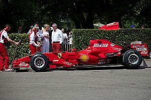 Vintage Ultime notizie Rigon sulla F2007 a Goodwood per i 70 anni della Ferrari