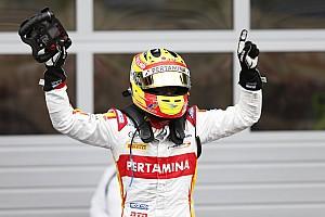 FIA F2 Nostalgia Ketika Rio Haryanto menang balapan GP2 dengan mobil rusak