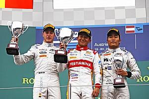 GALERI: Kemenangan kedua Rio Haryanto di GP2
