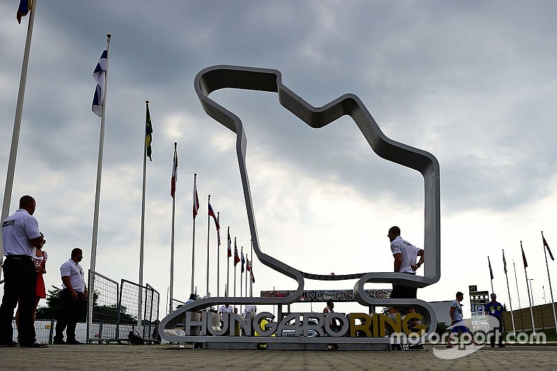 Los horarios del GP de Hungría