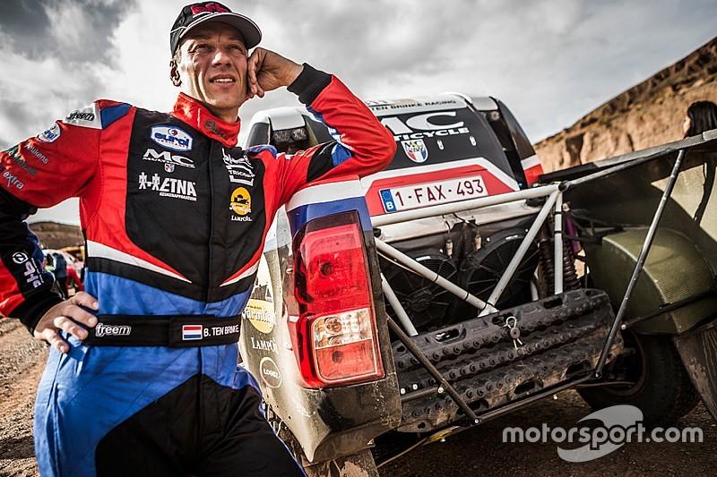 Ten Brinke wel aan de start in Dakar Rally 2018