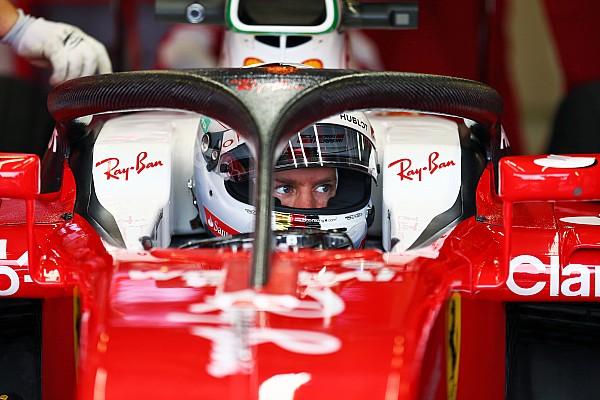 Formel 1 News Sebastian Vettel: F1 2018 ohne Halo wäre