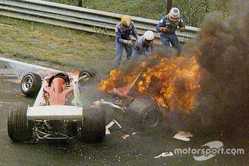 Vor 41 Jahren: Niki Lauda überlebt Formel-1-Inferno am Nürburgring