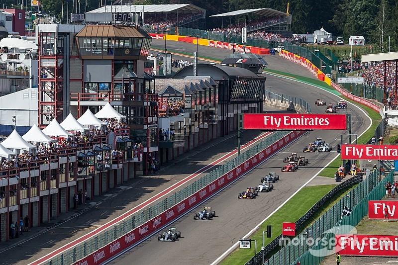 Formel 1 2017: Der Zeitplan zum Grand Prix von Belgien in Spa
