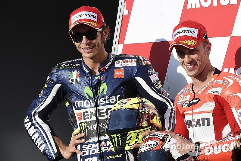 """Dovi: """"Megértem, milyen nehéz Rossinak lenni"""""""