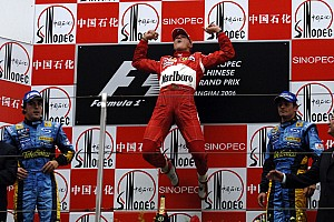Forma-1 Nosztalgia Michael Schumacher utolsó futamgyőzelme