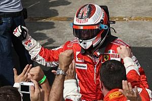A 8 éves Räikkönen megölelte édesanyját, és azt mondta, világbajnok lesz