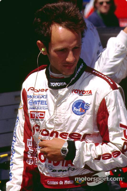 Christiano da Matta before qualifying