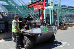 Vehículo de servicio de F1