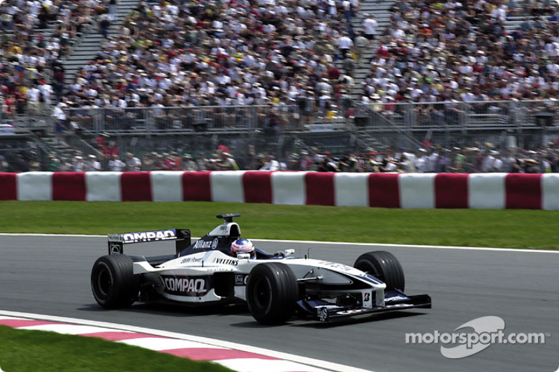 Jenson Button in the Senna hairpin