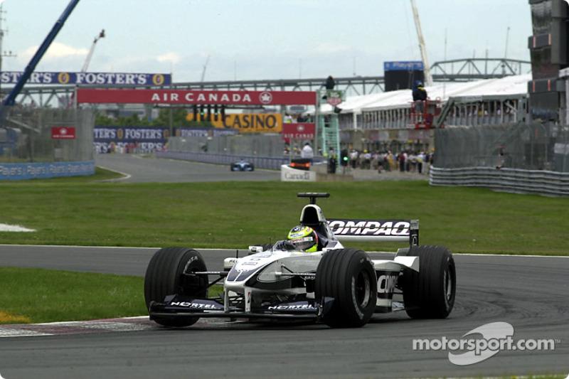 Tough day also for Ralf Schumacher