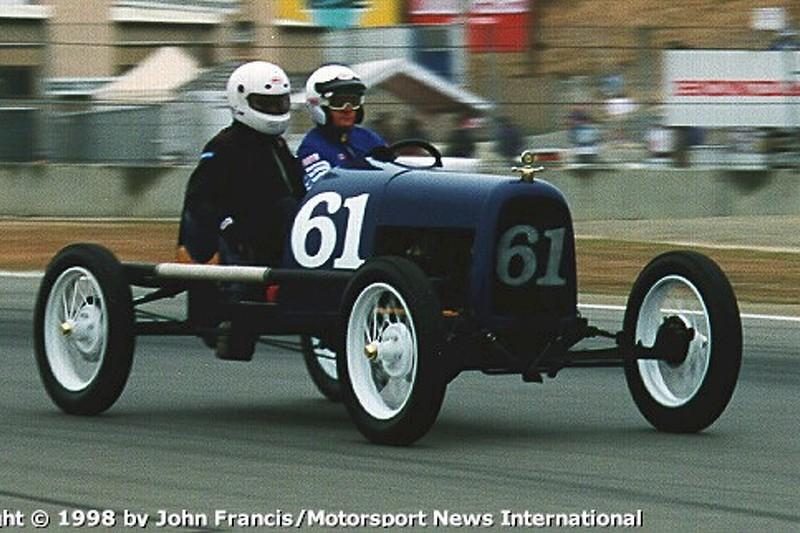 1922 Model-T (between turns 3 & 4)