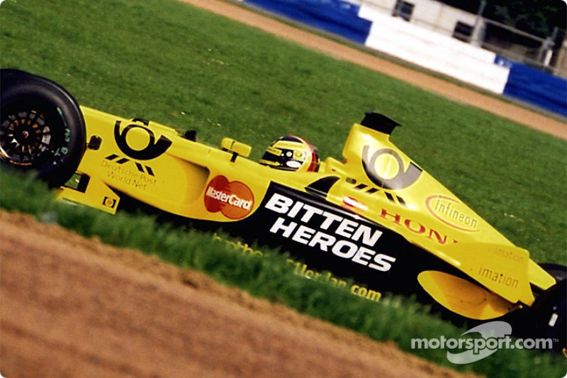 Heinz-Harald Frentzen in Luffield